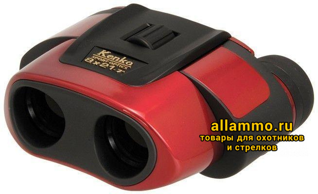 Бинокль KENKO ULTRA VIEW 8x21 Red