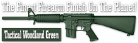 Краска для оружия Duracoat Tactical Woodland Green PK-DCT8