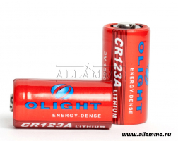 CR123A Li-ion Olight батарея 1500mAh - 1шт