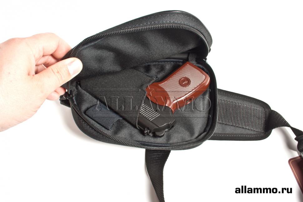 Сумка плечевая Vektor Сз-12 для любого пистолета - купить